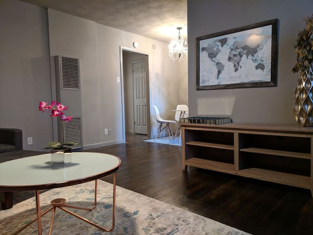 Mid-Century Modern Flat Just Outside of Downtown