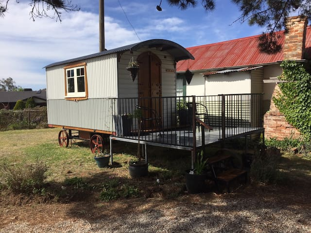Shepherd's Hut/Gypsy Caravan