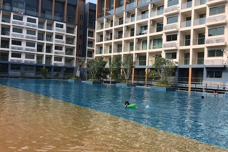 Pattaya Blue Lagoon Apartment 芭提亚优雅蓝湖公寓 - Muang Pattaya