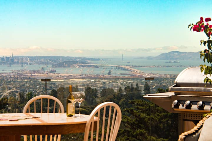 Magical Bay View in Oakland Hills