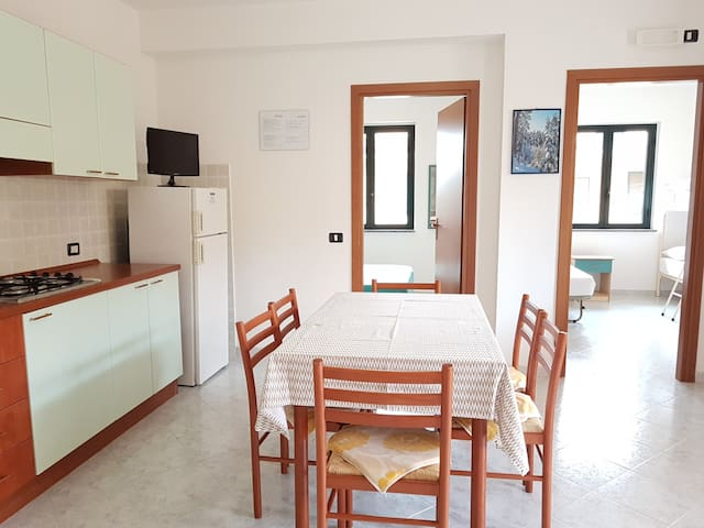 Comfortable apartment 100m from the beach