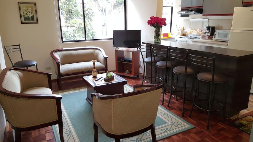 Departamento de lujo en el Norte de Quito