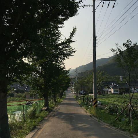 #산해독채민박# Private Han-Ok, 경주보문 한옥독채 방2 거실 정원 26평