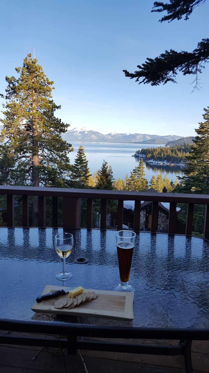 Beautiful Meeks Bay Bliss & Panoramic Lake Views