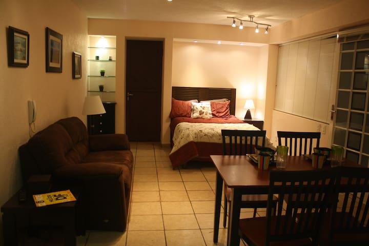 Cosy suite in a nice and safe neighborhood - 墨西哥城(Ciudad de México)