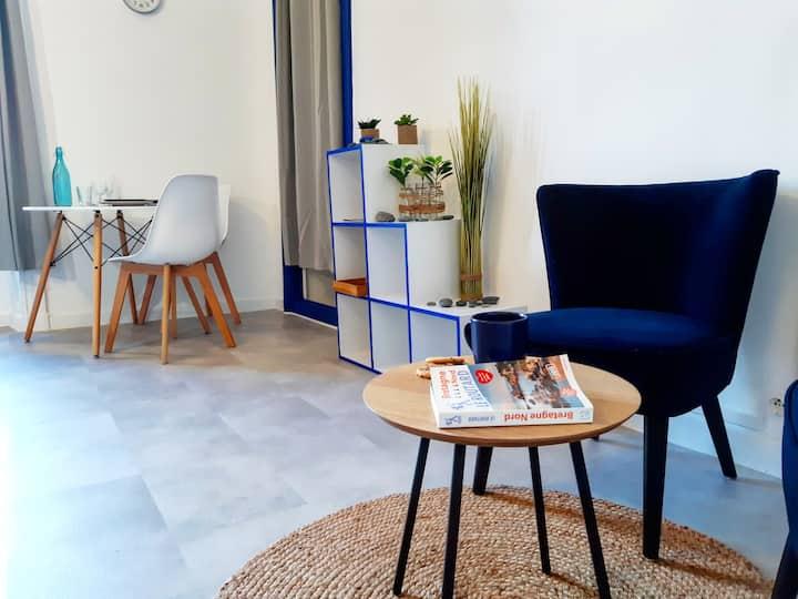 LE GALET BLEU 🔹️ Hypercentre 🔹️ Studio mezzanine