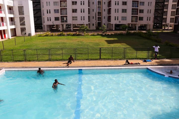 Tildah Executive Furnished Apartments with a pool
