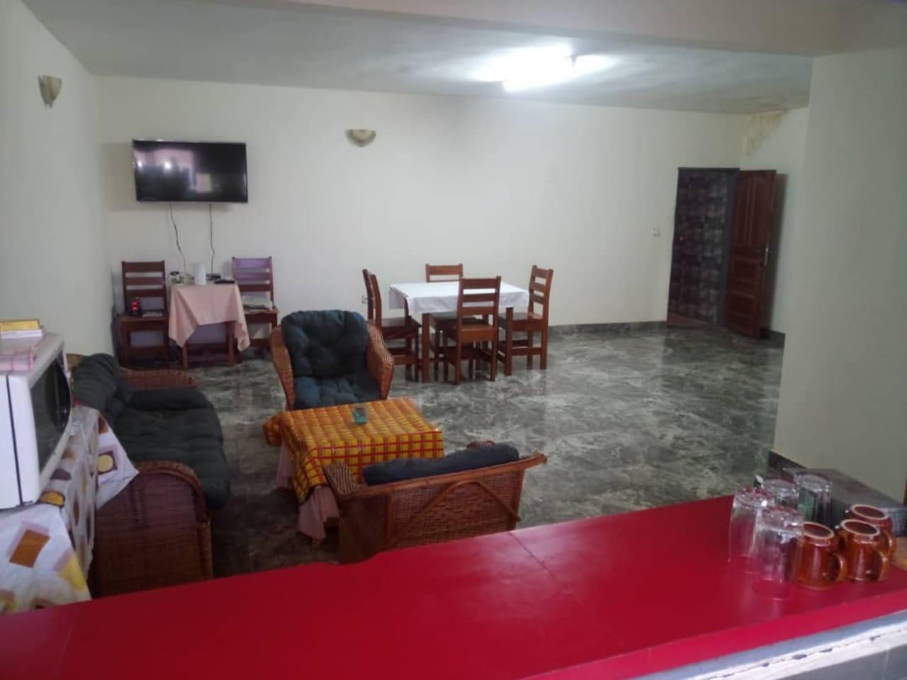 Grand salon et salle à manger