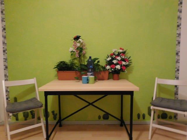 ökologische Wohnung