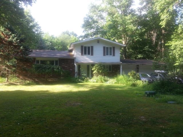 Private Pool Home On 1.5 Acre Wooded Lot