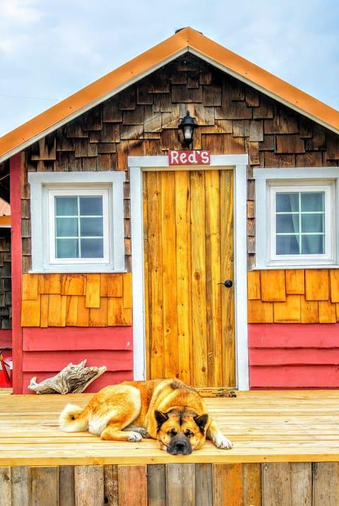 Cozy rustic cabin 5 min. from Cody 4