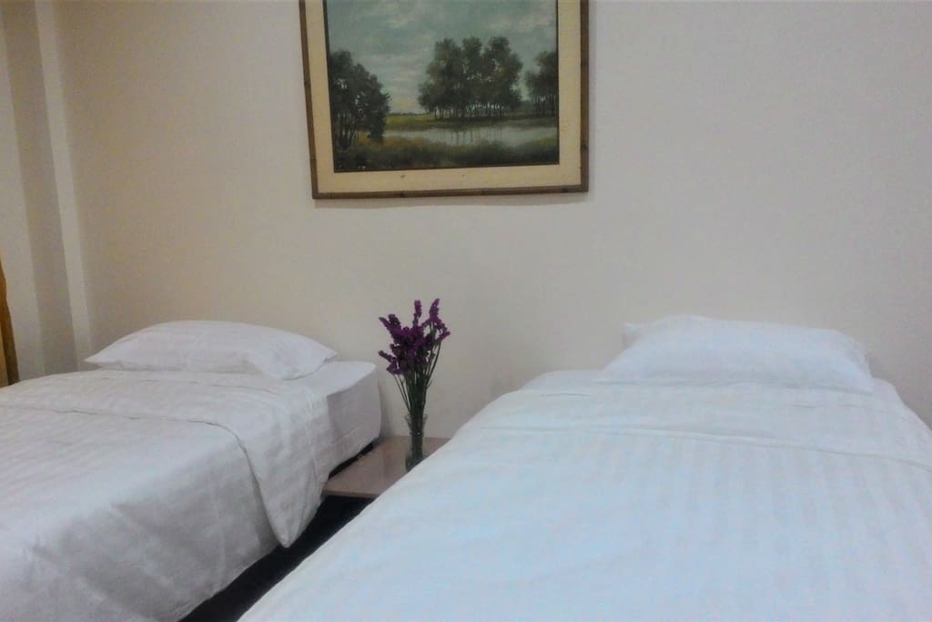 2-bed studio with full functions for your pleasant stay.