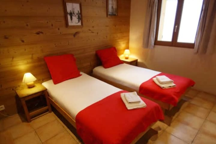 Lovely chalet in Peisey, Les Arcs. Rm 3, Twin