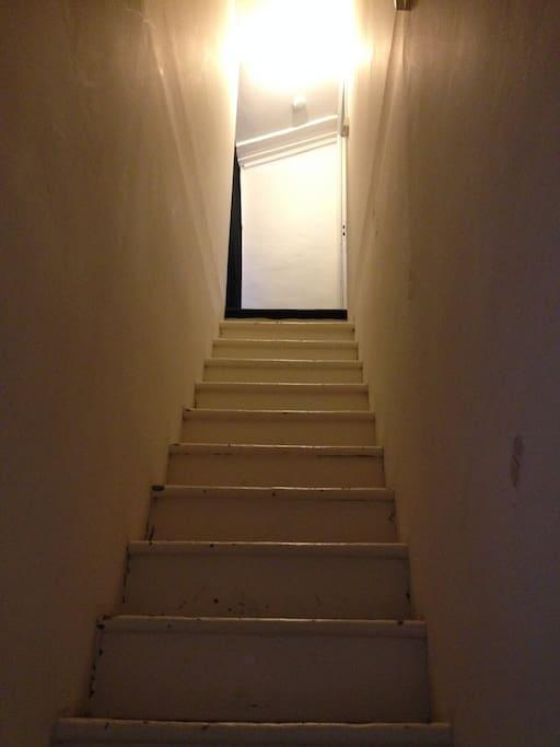 L'escalier dérobé