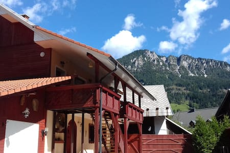 Апартаменты с сауной в Альпах♡