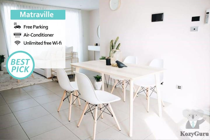 KOZYGURU | Matraville | Penthouse Amazing View | 3 BED + Free Parking | NMV483