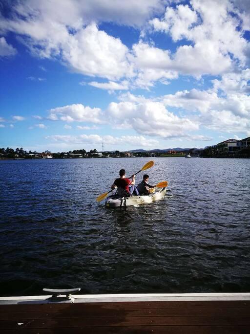Enjoying canoe & Kayak (free)