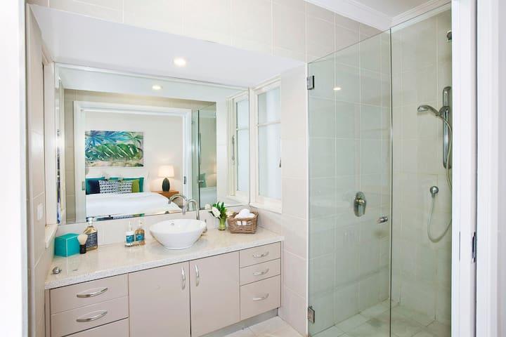 Ensuite bathroom to main bedroom