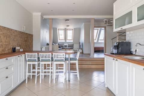 Premium 2-Story Penthouse Apartment + TERRACE