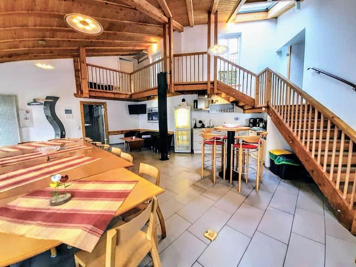 Eifel Familien-Ferienhaus Alleinnutzung <30 Gäste!