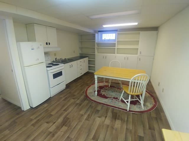 2 bedroom suite between college and downtown Olds
