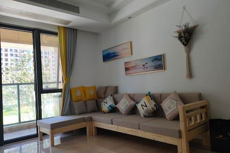 蔚蓝小筑温馨舒适的家(岱山绿城蔚蓝公寓海景房)