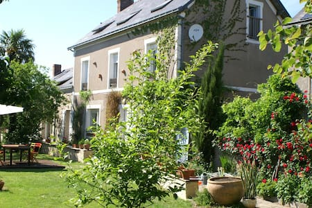 """maison d'hôtes """"au bout de l'île"""" - Montjean-sur-Loire - Huis"""