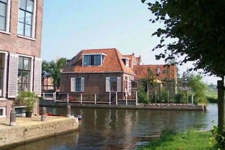 Sunny city house at waterfront - Hindeloopen