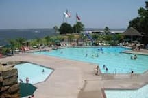 Yacht Club Pool.  Use your Walden card to gain entry to this big pool.  Also has pool for children.
