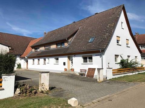 Ferienwohnung am Fuß des Hesselberg