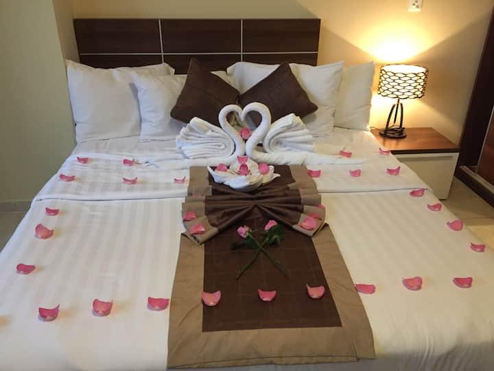 Luxury VIP Bedroom SEA VIEW + Private Bath in Doha