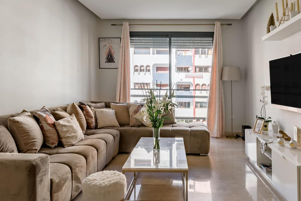 Warm Apartment in the Heart of Casablanca