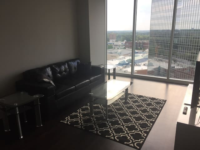 Beautiful view of Buckhead area overlooking Phillips Plaza - Atlanta - Apartament