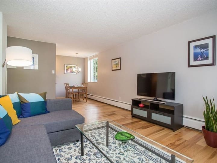 HUGE 1-bedroom condo by the lions gate bridge