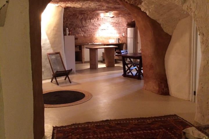 Stunning Underground Home with Desert Views & Deck