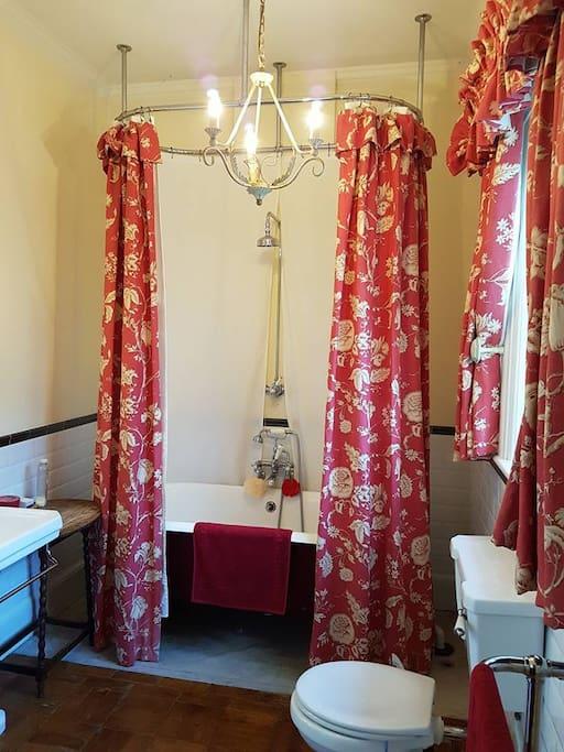 the Edwardian bathroom