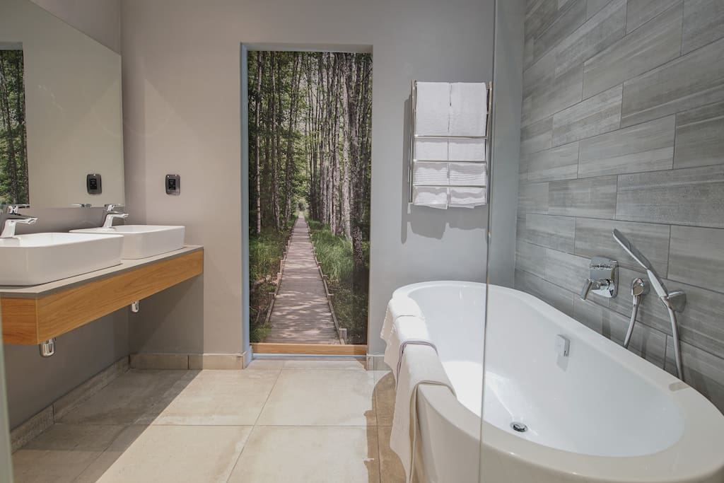 Ensuite bathrooms with every Suite