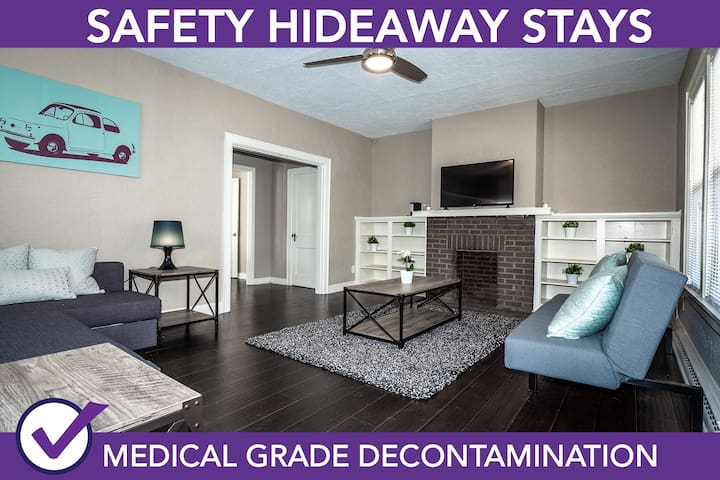 Safety Hideaway - Medical Grade Clean Home 9