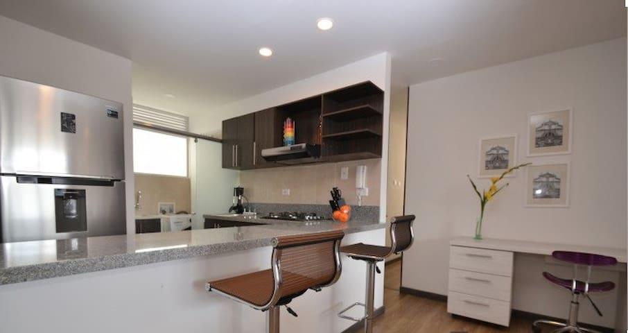 Apartamento Nuevo 3 Habs Cedritos - Bogotá - Apartment