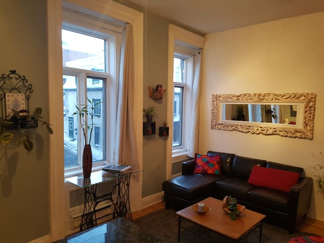 Comfy one bedroom apartment in the heart of town