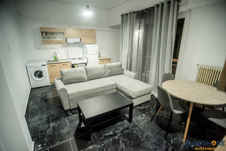 Explore Greece from Bright City Centre Apartment