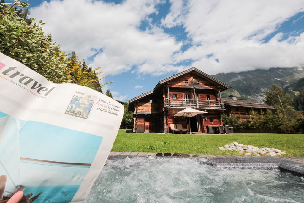 Chalet Smart Chamonix - Relax in the jacuzzi