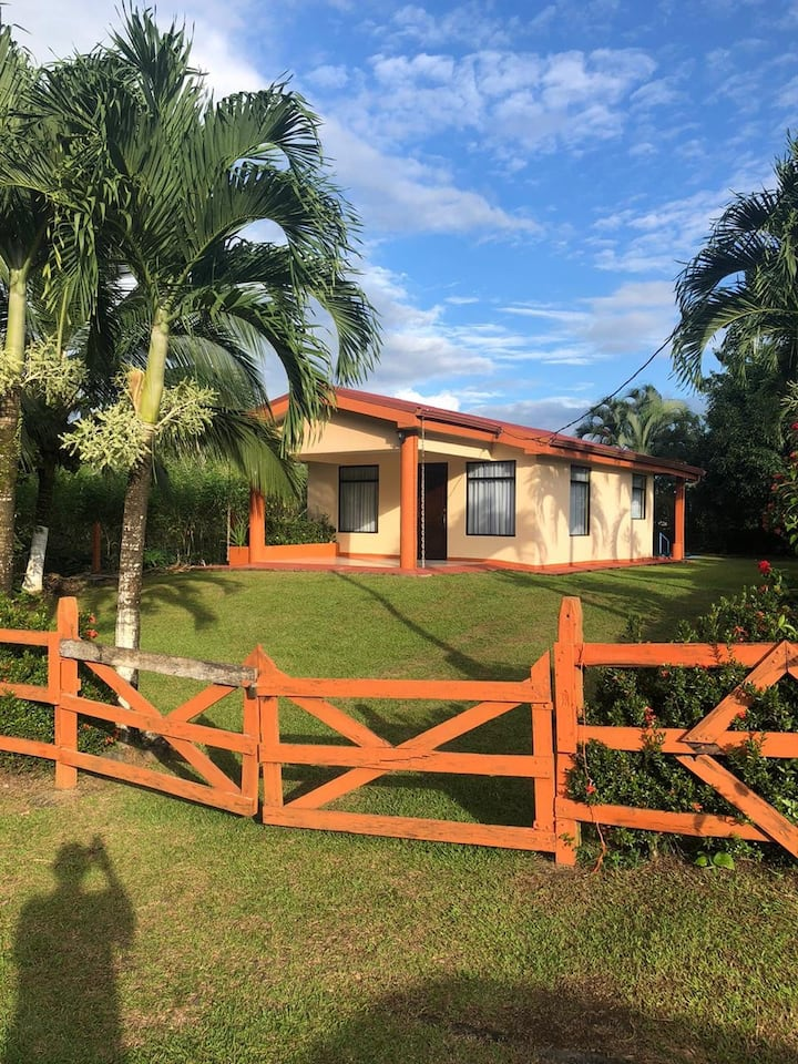 Cozy home & pool, minutes from jungle adventures!