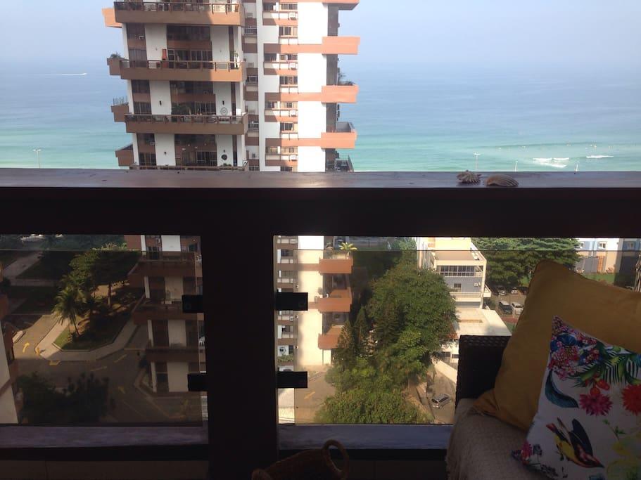 Balcony view / vista da varanda