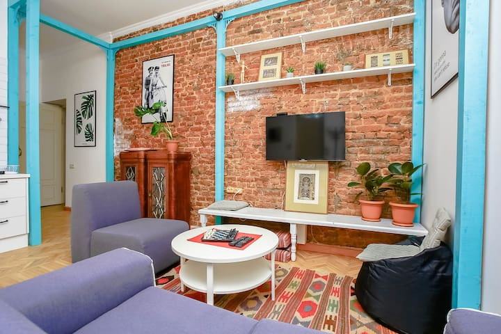★Off - 20% ★ 2 Bed apart, 3 min to Liberty Square★