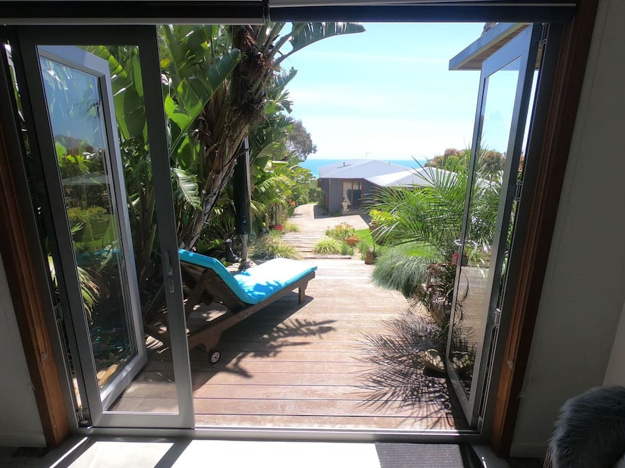 Outlook from the bedroom