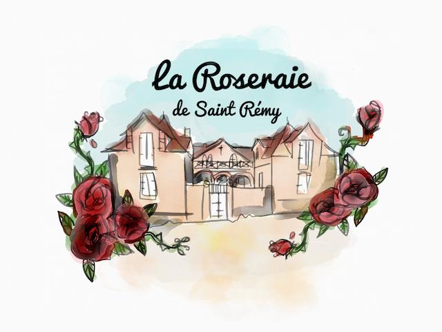 La Rose Damas -La Roseraie de  St Rémy