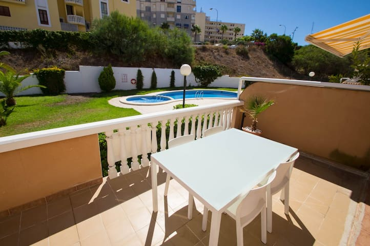 016 WIFI Pool BBQ Walking to beach Big terrace - Torrevieja - อพาร์ทเมนท์
