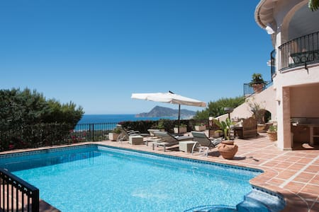 Spacious dazzling villa with beautiful sea vue - Altea