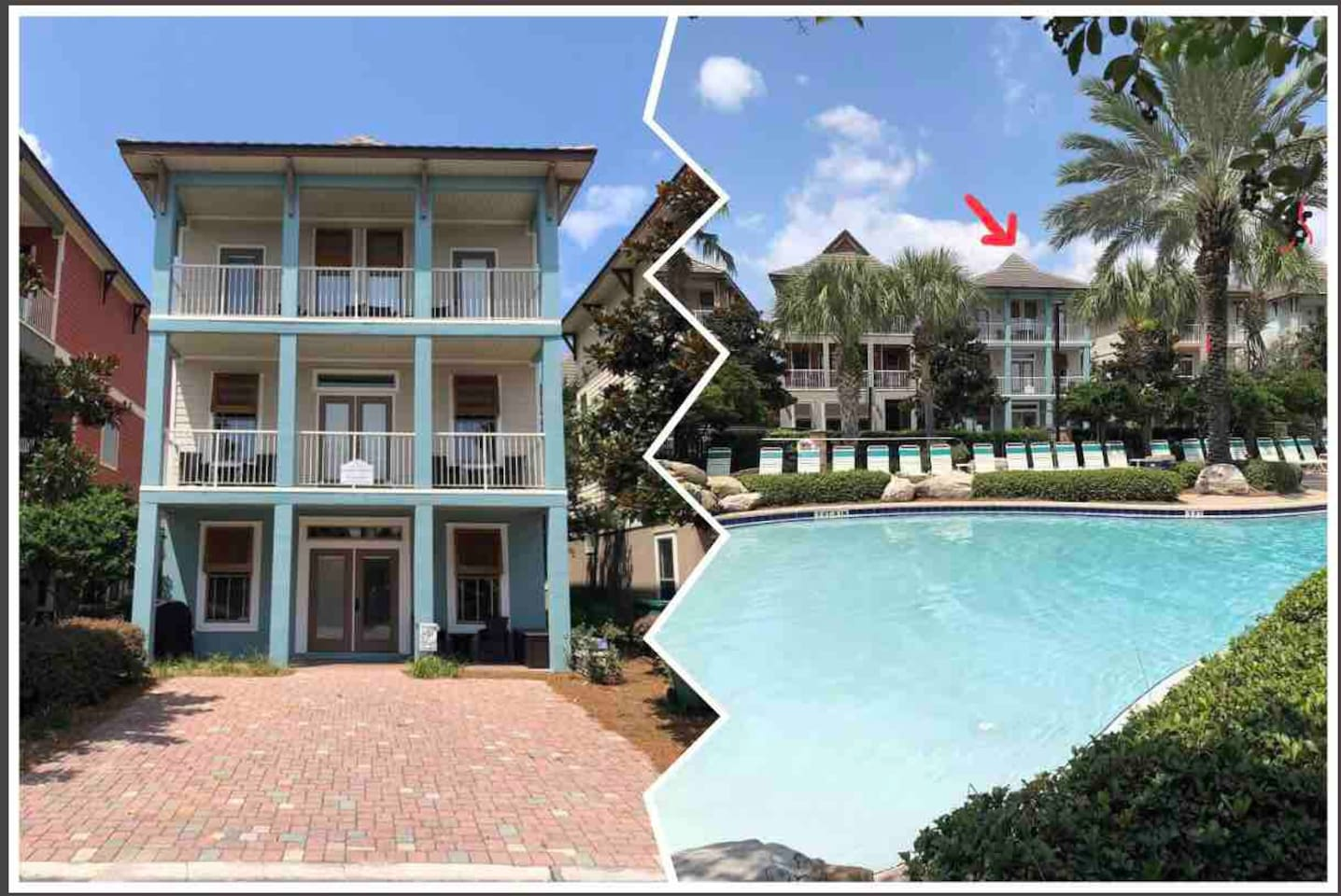 Coastal Compass / The Point Of Your Perfect Destination. Situated Right On Pool.